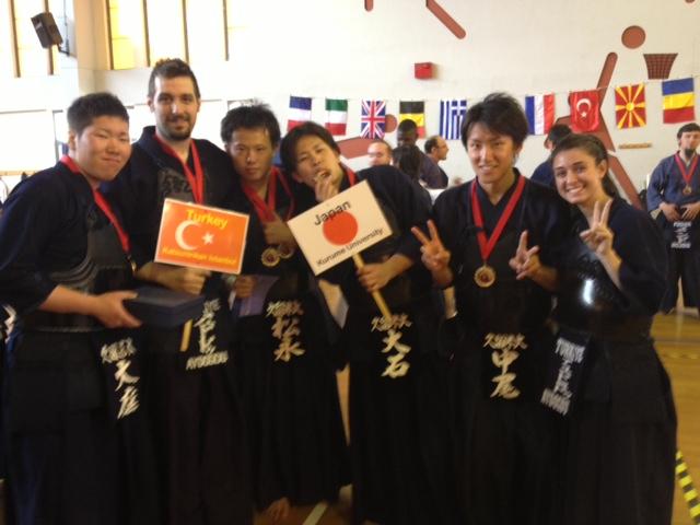 Athens taikai 2013 Japon takımı